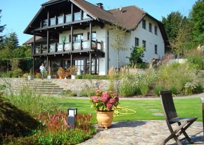 Privatgarten in Krombach