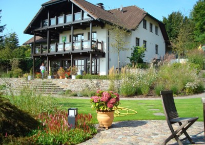 Privatgarten in Krombach